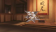 Genji chrome shuriken
