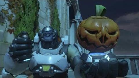 Overwatch Halloween 2018 Winston Highlight