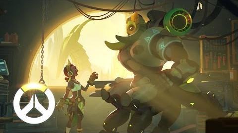 Hintergrundgeschichte von Orisa Overwatch (DE)