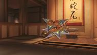 Genji cinnabar shuriken
