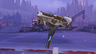 Sombra cyberspace golden machinepistol