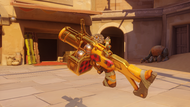 Junkrat hayseed golden fraglauncher