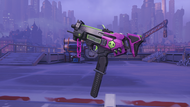 Sombra losmuertos machinepistol