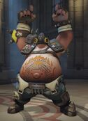 Roadhog Pointing to the Sky