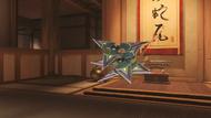 Genji azurite shuriken