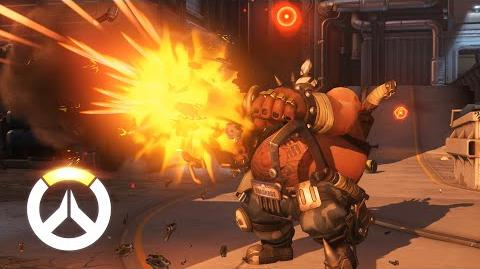 Overwatch Roadhog Ability Overview (EU)