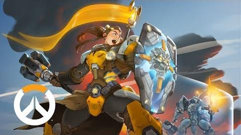 NEW HERO – COMING SOON Brigitte Origin Story Overwatch