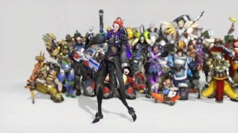 Overwatch Moira Dance