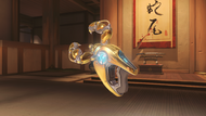 Symmetra qipao golden photonprojector