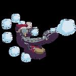 Winter Wonderland - Zenyatta - Snowball Fight spray