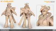 Mei Er Chang highpoly