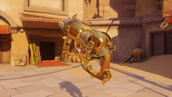 Roadhog thistle golden scrapgun