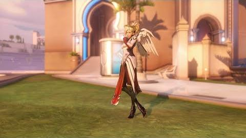 Overwatch Mercy emote - The Best Medicine