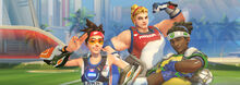 Summer Games Mini Banner