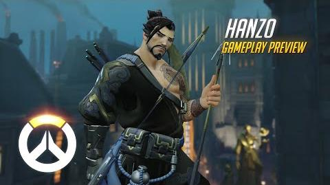 Hanzo Gameplay Preview Overwatch 1080p HD, 60 FPS