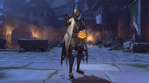 Ana halloweenterror emote candy