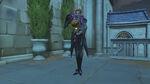Moira - Pumpkin victory pose - Overwatch