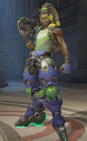 Lucio Ready for Action