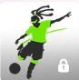 Soccer Olympics Player Icon
