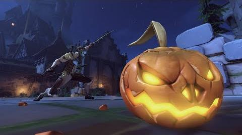 Genji halloweenterror hightlightintro pumpkincarving