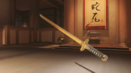 Genji sparrow golden dragonblade