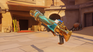 Pharah frostbite golden rocketlauncher