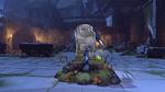 Pharah halloweenterror2016 victorypose rip