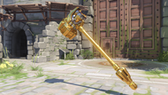 Reinhardt brass golden rockethammer