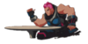 Zarya Spray - Wrestle