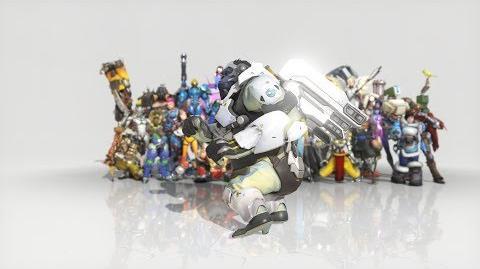 Overwatch - Anniversary Winston emote - Dance