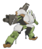 Bastion Spray - Action