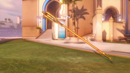 Mercy celestial golden caduceusstaff