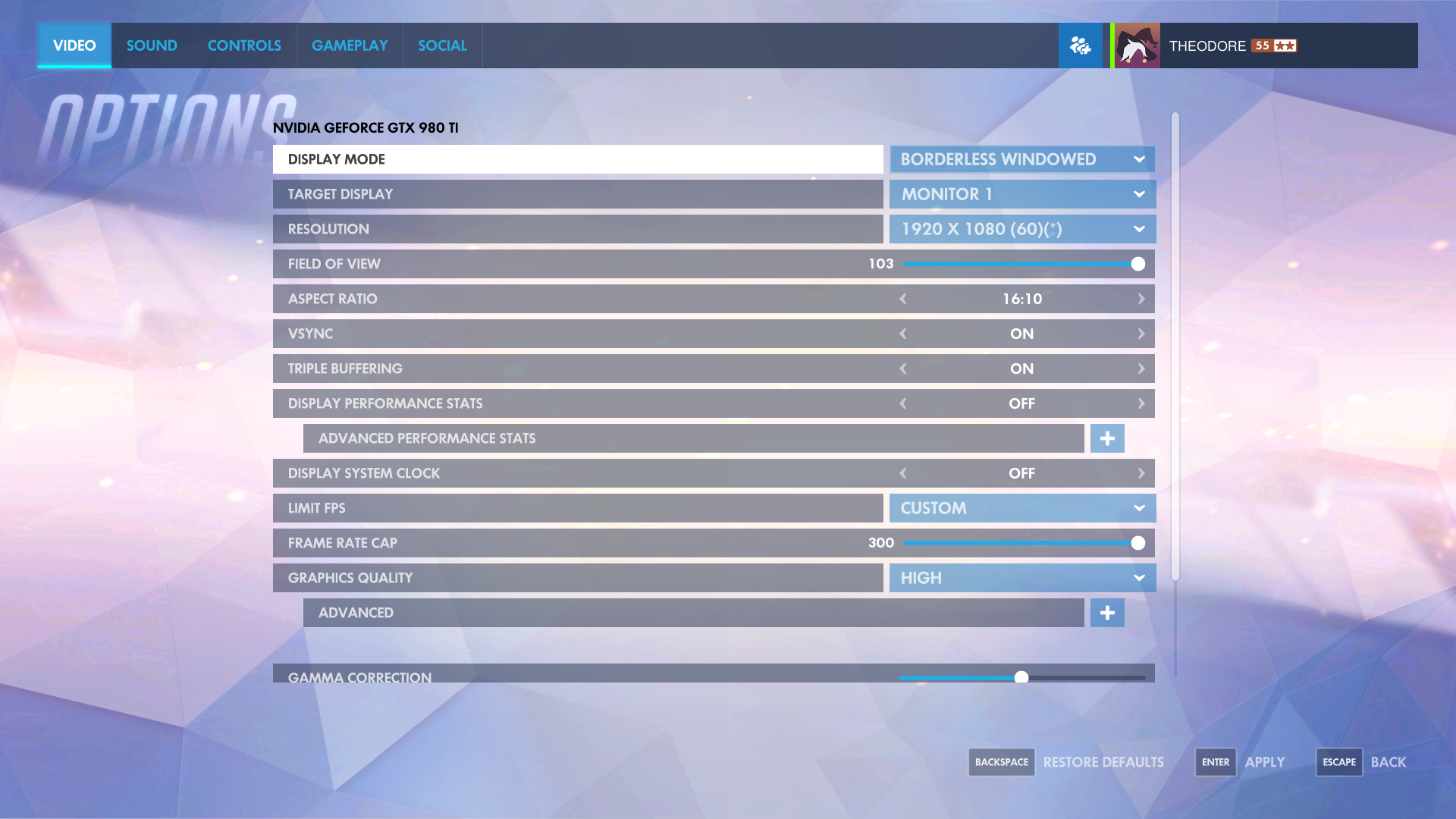 Game Options | Overwatch Wiki | FANDOM powered by Wikia
