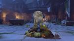 Pharah halloweenterror victorypose rip