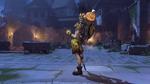 Junkrat halloweenterror victorypose pumpkin