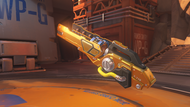 Winston desert golden teslacannon