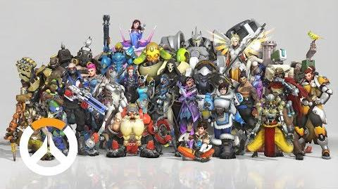 Thank You Overwatch Anniversary 2018