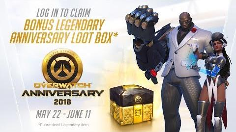 Overwatch Seasonal Event Overwatch Anniversary 2018-0