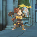 Brigitte - Trick Or Treat spray - Overwatch