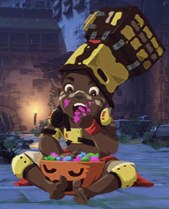 Image - Doomfist Halloween Terror 2017 Spray Trick or Treat.png ...
