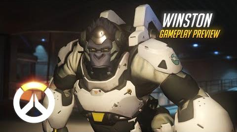 Overwatch Winston Gameplay Preview
