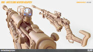 Ana wasteland weapon highpoly