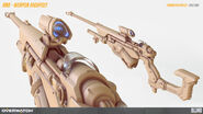 Ana weapon highpoly