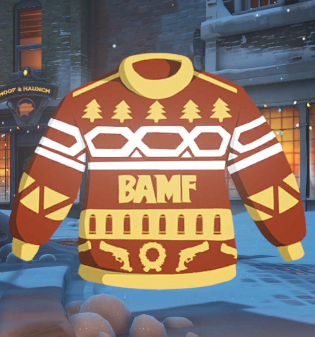 Zenyatta Overwatch Ugly Sweater For Christmas T