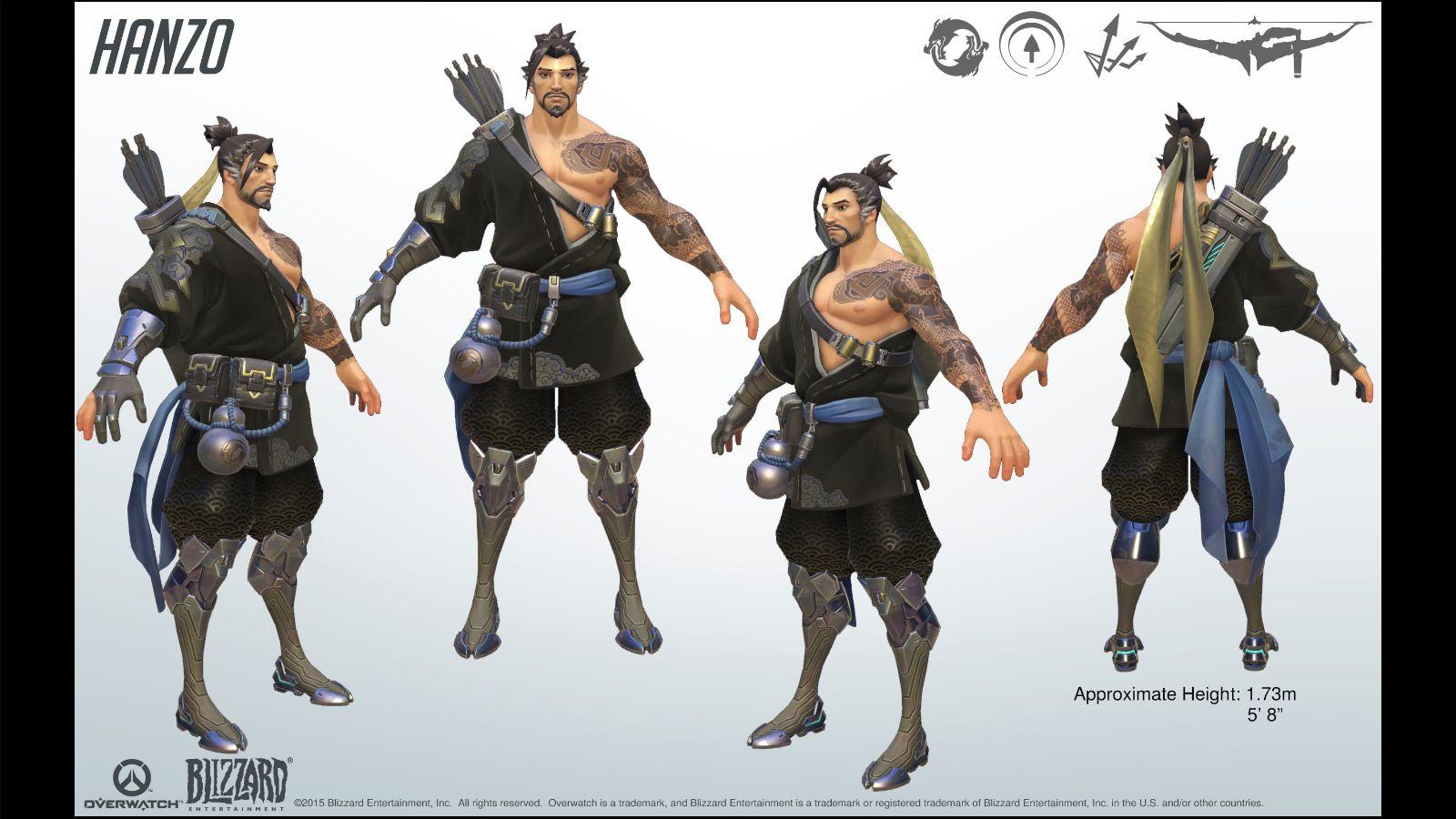 Image - Hanzo Reference 1.jpg   Overwatch Wiki   FANDOM ...