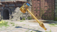 Reinhardt paragon golden rockethammer