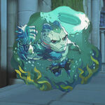 Doomfist - Swamp Moster spray - Overwatch