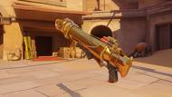 Pharah emerald golden rocketlauncher