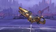 Zarya goldenrod golden particlecannon