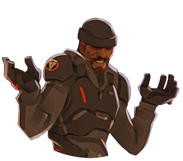 Resultado de imagem para reaper shrug